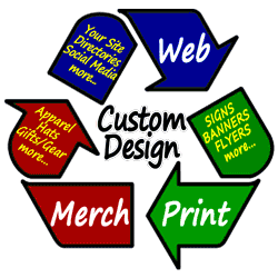 Custom Websites, Design, and Marketing & Promotion